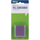 Ezy-Dose Indestructo Pill Box Fashion Colors
