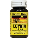 Nature's Blend Lutein 15mg, Capsules, 60ct