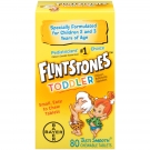 Flintstones Toddler Children's Multivitamin Supplement Fruit 80 Chewable Tablets