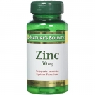 Nature's Bounty Chelated Zinc 50 mg Caplets - 100ct