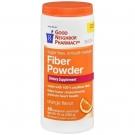 GNP® Fiber Natural Powder Smooth, Orange- 10oz