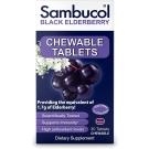 Sambucol Black Elderberry Immune Support Chewable Tablets- 30ct