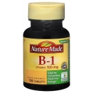 Nature Made Vitamin B-1 100mg Tablets 100ct