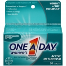 One-A-Day Women's Active Metabolism Complete Multivitamin Tablets 50ct