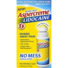 Aspercreme Maximum Strength Lidocaine No-Mess Roll-On 2.5 oz.