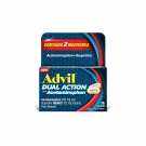 Advil Dual Action Caplets with Acetaminophen, 36ct