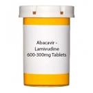 Abacavir - Lamivudine 600-300mg Tablets