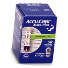 Accu-Chek Aviva Plus Diabetic Test Strips - 50 Strips