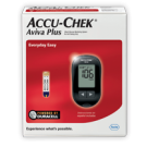 Accu-Chek Aviva Plus Diabetes Blood Glucose Monitoring Kit