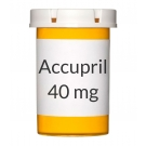 Accupril 40mg Tablets