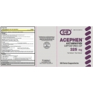 Acetaminophen Suppositories (325mg) - 12 Suppositories
