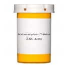 Acetaminophen - Codeine #3 300-30mg Tablets
