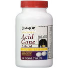 Major Rugby Acid Gone Antacid E/S Chew- 100ct
