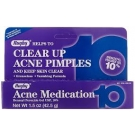 Rugby Acne Medication Benzoyl Peroxide Gel USP 10% - 1.5oz