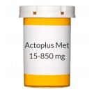 Actoplus Met 15-850 mg Tablets