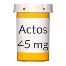 Actos 45mg Tablets