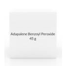 Adapalene Benzoyl Peroxide 0.1-2.5% Gel- 45g Tube