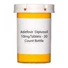 Adefovir  Dipivoxil 10mg Tablets - 30 Count Bottle