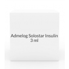 Admelog Solostar Insulin 100U/ml- 5 x 3ml Syringes