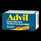 Advil Caplet 100ct