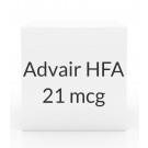 Advair HFA 230-21 mcg Inhaler (120 Dose -12g)