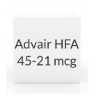 Advair HFA 45-21 mcg Inhaler (120 Dose -12g)