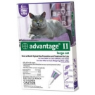 Advantage II  (For Large Cats, Over 9 lbs) - 6 Pack (Purple)