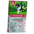 Advantix II K-9  (For Large Dogs, 21 to 55 lbs) - 6 Pack (Red)