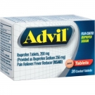 Advil Film-Coated Ibuprofen Sodium Tablets - 20ct