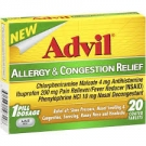 Advil Congestion Relief Caplet- 10ct