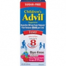 Children's Advil Ibuprofen Fever Reducer/Pain Reliever Oral Suspension, Sugar-Free, Berry- 4oz