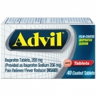 Advil Film-Coated Ibuprofen Sodium Tablets - 40ct