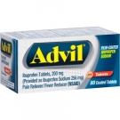 Advil Film-Coated Ibuprofen Sodium Tablets - 80ct