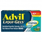 Advil Liqui-gel Minis Pain Reliever & Fever Reducer - 160ct