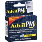 Advil PM Caplets- 4ct ** Extended Lead Time **