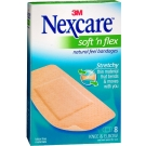 Nexcare Bandages Comfort Fabric Knee & Elbow 8ct