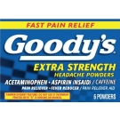 GOODY'S Extra Strength Headache Powder 6pk