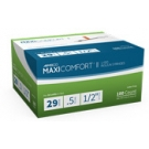 AIMSCO MaxiComfort Insulin Syringe 29 Gauge, 1/2cc, 1/2
