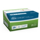 AIMSCO MaxiComfort Insulin Syringe 29 Gauge, 1cc, 1/2