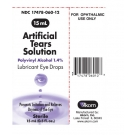 Artificial Tears Opthalmic Solution 15ml