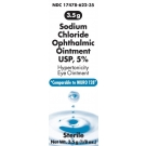Akorn Sodium Chloride Ophthalmic Ointment  1/8 oz