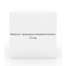 Albuterol - Ipratropium Inhalation Solution 2.5mg/0.5ml (30 x 0.3 ml Vial Box)