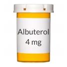 Albuterol 4mg Tablets
