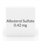 Albuterol Sulfate 0.042mg/ml Inhalation Solution- (25x3ml)