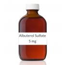 Albuterol Sulfate 0.5% Inhalation Solution 2.5mg/0.5ml (30 x 0.5 ml Vial Box)