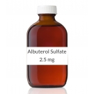 Albuterol Sulfate 0.5% Inhalation Solution 2.5mg/0.5ml (30 x 0.5 ml Vial Box)