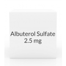 Albuterol Sulfate 2.5mg/0.5ml Inhalation Ampules- 30ct