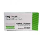 EasyTouch® Alcohol Prep Pads Spun Lace - 100ct