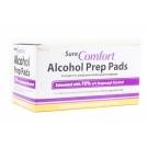 Sure Comfort Alcohol Prep Pads - 100 Pads