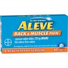 Aleve Back & Muscle Pain 220mg Tablets- 50ct